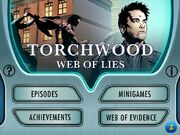 TW Web of Lies main screen