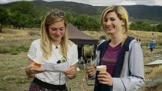 Get to Know Jodie Behind the Scenes Doctor Who BBC America