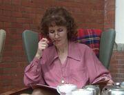 Liz smokes