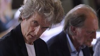 Peter Capaldi's final Doctor Who read-through might make you a bit emotional