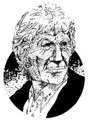 Third Doctor Illustration in DWM 122