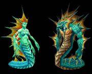 Naga female and male