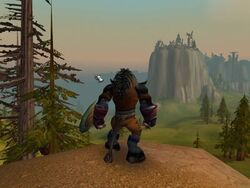 World of Warcraft Tauren from the Wood