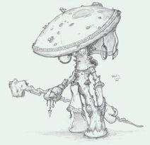 Planescape Myconid Sorcerer by Sebbythefreak