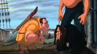 Tarzan Fight Scene