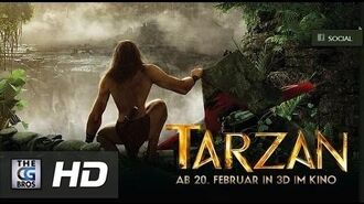 "CGI Animated Trailer ""Tarzan 3D - Official Trailer"" by Constantin Film"