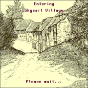 Moving - Entering Skysail Village
