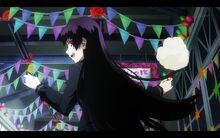Yuuko run cotton candy