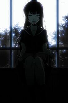 Yuuko read book ghosts don't sleep