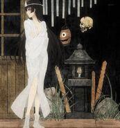 Yuuko ghost painting style