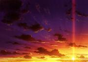 Cielo del amanecer