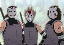 Shadow, Skim y Jacomaru ANBUS