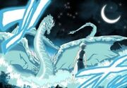 Gran dragon de agua