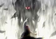 El demonio de skim ante su padre