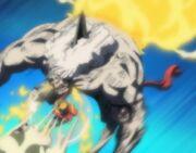 Fubuki es atacado por Megane