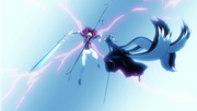 Takeshi corta a Shigure