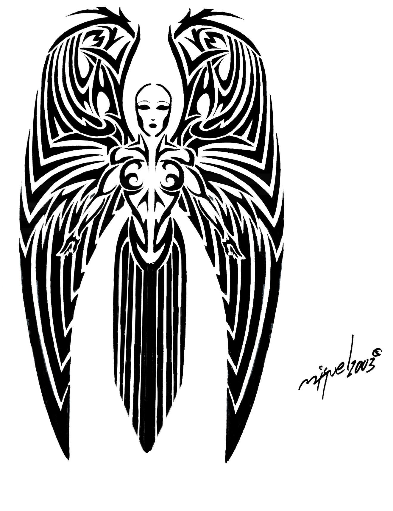 Tattoo symbolism tattoos wiki fandom powered by wikia angel tattoos angel tattoo biocorpaavc