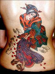 Japanese tattoo 11