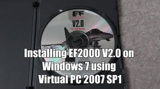 EF2000 V2.0 How to install the CD on Windows 7 using Virtual PC