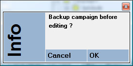 Backup prompt tawbc