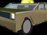 Golden Wall Driver Taxi