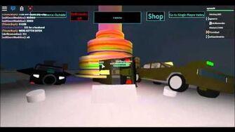 Roblox Taxi simulator Cake drop