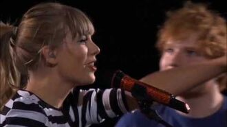 Everything Has Changed ft. Ed Sheeran (DVD The RED Tour Live)