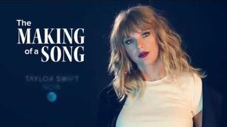 "Taylor Swift NOW- The Making of a Song - ""Don't Blame Me"""