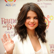 Selena at the Ramona and Beezus premiere