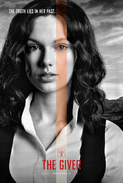 The Giver film poster featuring Taylor Swift as Rosemary