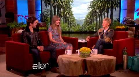 Taylor Swift and Zac Efron - The Ellen Show (2012-02-21)