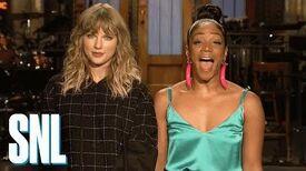 Tiffany Haddish is on Taylor Swift's new album - Saturday Night Live