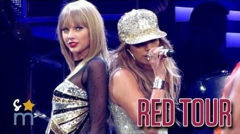 "Taylor Swift & Jennifer Lopez - ""Jenny From the Block"" at Staples Center"