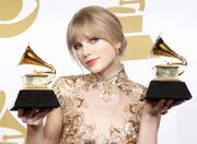 Taylor at the Grammy Awards