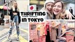 My First Time Thrift Shopping in Harajuku, Japan