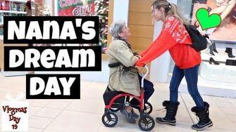 Living My 82 Year Old Nana's Dream Day Vlogmas 19