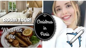 Travelling to Paris For Christmas Vlogmas Days 22&23