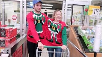 Attached to My Brother By An Xmas Sweater Vlogmas Day 21