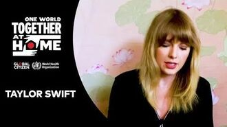 """Taylor Swift performs """"Soon You'll Get Better"""" One World Together At Home"""