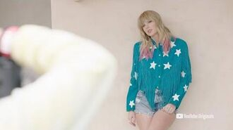 Lover Album Photoshoot Behind The Scenes