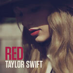 Taylor Swift Red Album Art Cover