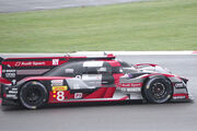 Audi Sport Team Joest's Audi R18 Driven by Lucas Di Grassi, Loic Duval and Oliver Jarvis