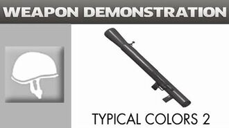Typical Colors 2 Weapon Demonstration - Direct Hit