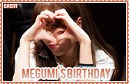 Megumi-onstagebday01