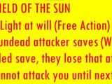 Shield of the Sun