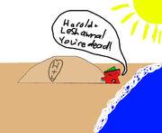Duncan mugged beach