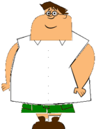 Owen as peter griffin epic art camp challege 1