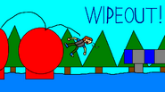 Harold on Wipeout
