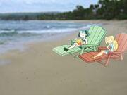 Gwen & Bridgette on the Beach