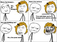 Troll mom